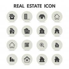 set of real estate banners vector free download