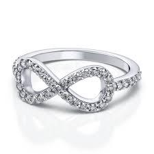 infinity diamond ring diamond ring in platinum 39ctw si h i