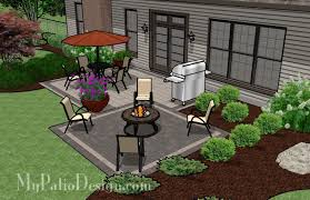 Patio Designs Simple Backyard Patio Designs Simple 2 Paver Style Patio