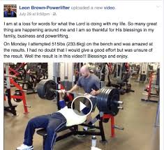 5 lessons from bench press world champion leon brown rob king