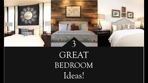interior design 3 great bedroom design ideas youtube