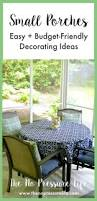 Screened In Porch Decor by Best 25 Small Screened Porch Ideas On Pinterest Small Sunroom
