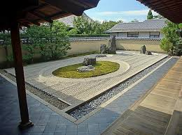 Rock Zen Garden Ryogen In Zen Rock Garden Kyoto Japan Photograph By Daniel Hagerman