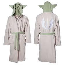 robe de chambre wars peignoir wars yoda