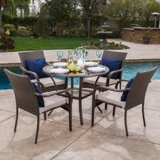 Round Patio Furniture Set Round Outdoor Dining Sets Shop The Best Patio Furniture Deals