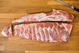 which corner does a st go on how to trim pork spareribs into a st louis style cut serious eats