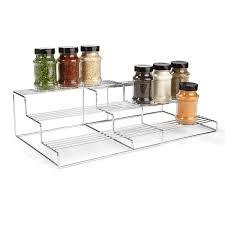 chrome extendable 3 tier shelf kmart