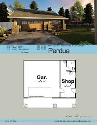 traditional style garage plan perdue
