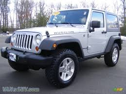 grey jeep wrangler 2 door 2009 jeep wrangler rubicon 4x4 in bright silver metallic 761036