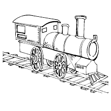 Steam Locomotive Coloring Pages Train Coloring Page Screenfonds by Steam Locomotive Coloring Pages