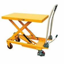 Pallet Lift Table by 500kg Scissor Lift Table L Midland Pallet Trucks