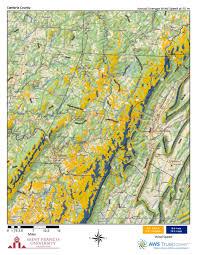 Cambria Map Pennsylvania Wind Maps St Francis University
