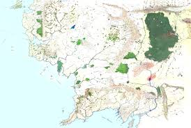 best tourist map of best map of middle earth major tourist attractions maps