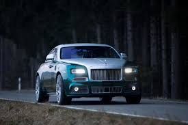 rolls royce wraith blue mansory makes a carbon fiber laden 740 horsepower rolls royce