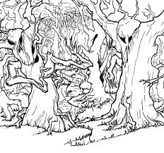 free printables archives elegance enchantment forest coloring pages printable for forest coloring pages