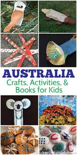 australia activities for kids crafts books and fun creative