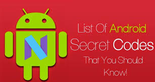 android secret codes nougat android n 7 0 32 secret codes must try it once repost