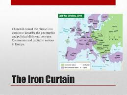 Who Coined The Phrase The Iron Curtain The Cold War