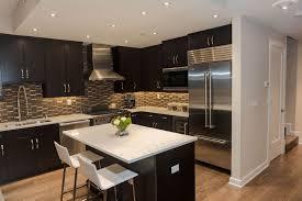 Granite Countertops With Cherry Cabinets Kitchen Backsplash Cherry Cabinets Black Counter Interior Design