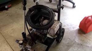 craigslist deal coleman powermate 1800psi pressure washer youtube