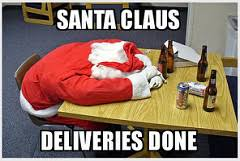 Santa Meme - drunk santa meme santa claus after his deliveries are done flickr