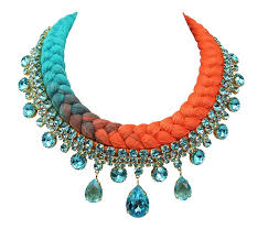 gold orange necklace images Statement necklace jolita jewellery page 30 jpg