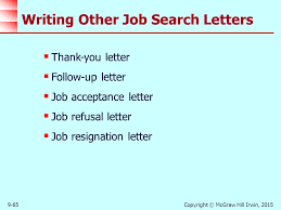 strategies in the job search process ppt download
