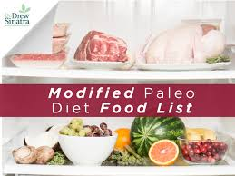 modified paleo diet food list healthy directions