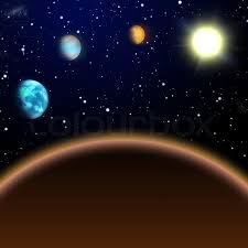 Solar System Night Light Buy Stock Photos Of Solar System Colourbox