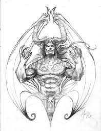 images of satan and demons drawings satan and demons pictures