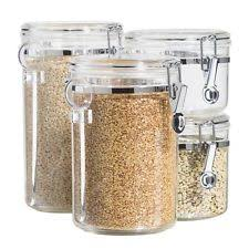 oggi kitchen canisters oggi canisters and jars ebay