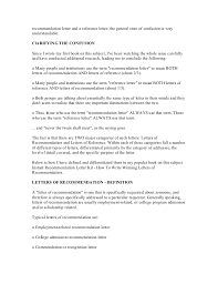 ideas of general recommendation letter sample also job summary
