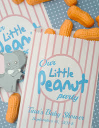 peanut baby shower peanut baby shower favor bags 20 personalized by sosiatogo