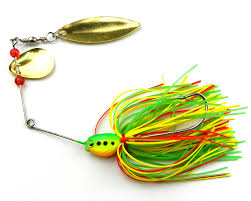 spinnerbait 25pcs fishing tackle spinnerbait lure 16 3g silicone skirt jig