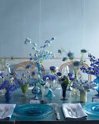 blue centerpieces 75 great wedding centerpieces martha stewart weddings