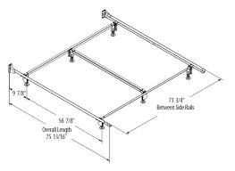california king bed frame size u2013 feei