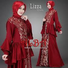 fashion terbaru lizza dress muslim terbaru 2017 by alba fashion