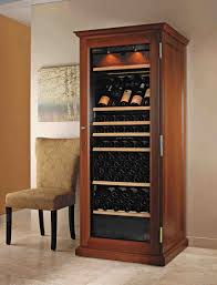 wine rack storage brown wooden leather stools wall mounted metal