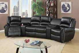 home theater recliners f6747 cat 17 p46 5pc reclining home theater black