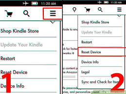 reset kindle pictures wikihow