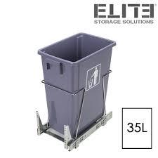 kitchen bin storage solutions the wesco shorty internal waste bin