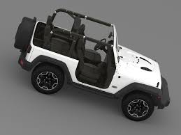 jeep wrangler grey interior jeep wrangler rubicon 10th anniversary 2014 3d model max obj 3ds