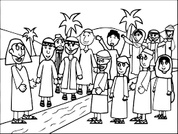 story zacchaeus jesus coloring pages wecoloringpage