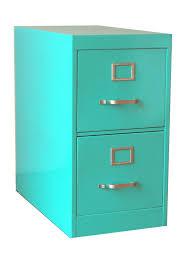 twenty gauge file cabinet 2 drawer turquoise file cabinets