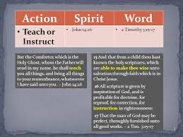 Holy Spirit My Comforter The Influence Of The Holy Spirit U0026 The Word Ppt Online