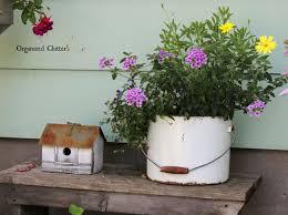 Rustic Garden Decor Ideas Organized Clutter My Friend Danita U0027s Rustic Garden Decor
