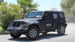 jeep bandit interior 2018 jeep wrangler hides evolutionary design underneath thick camo