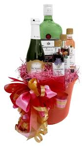 liquor gift baskets gift basket experts gin floral elixir cocktail basket liquor