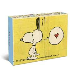 vintage peanuts assorted boxed cards
