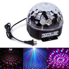 led disco ball light led disco rutulys šviečiantis rutulys kristalas led
